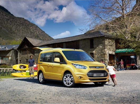 2014 Ford Transit Connect ve Tourneo Connect
