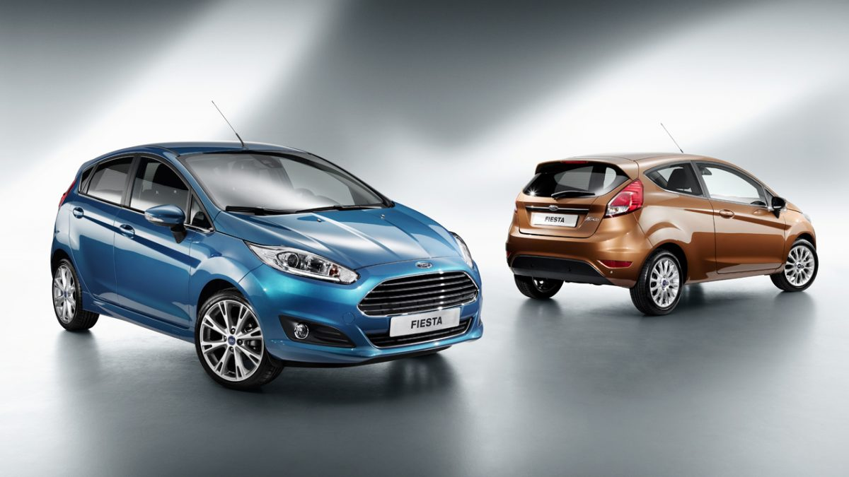 2014 Ford Fiesta 1.0 litre EcoBoost