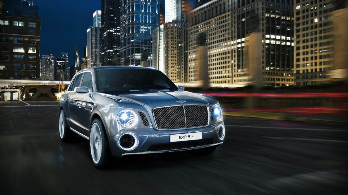 2015 Bentley EXP 9 F SUV