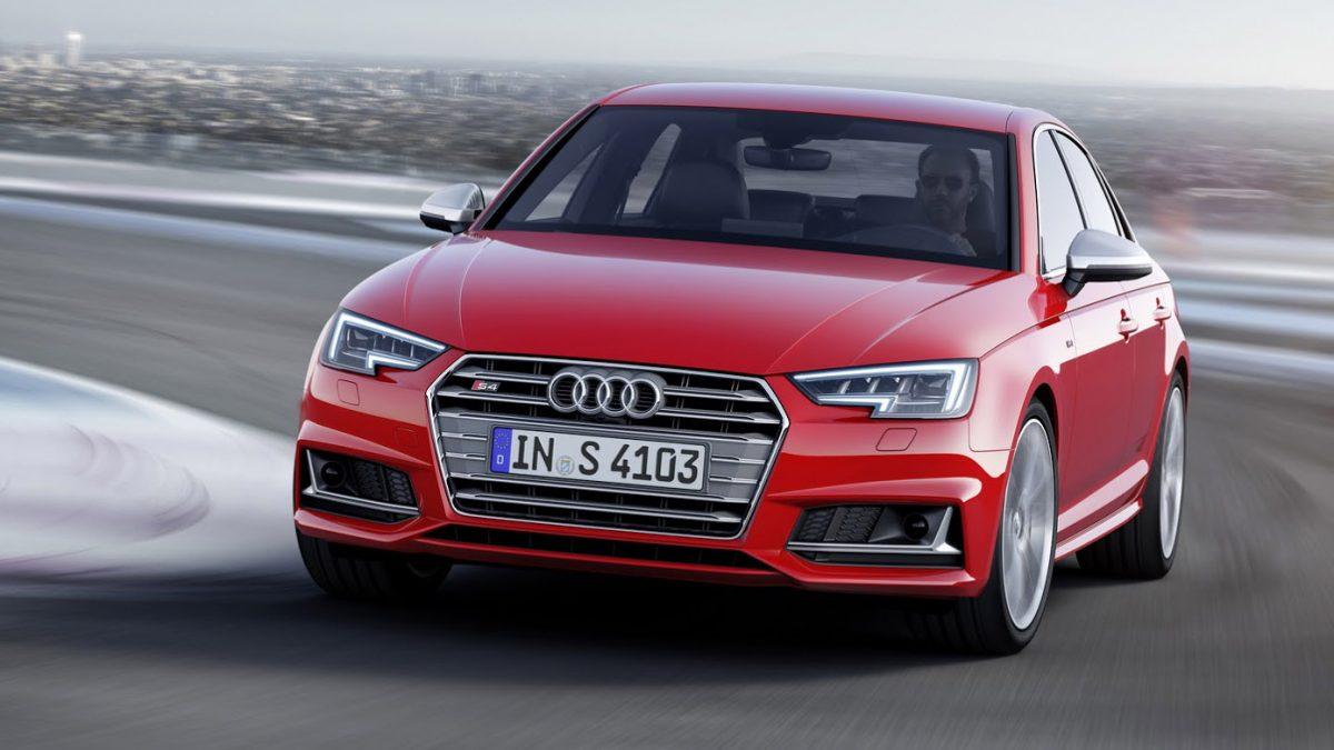 2016 Audi S4 Sedan ve S4 Avant