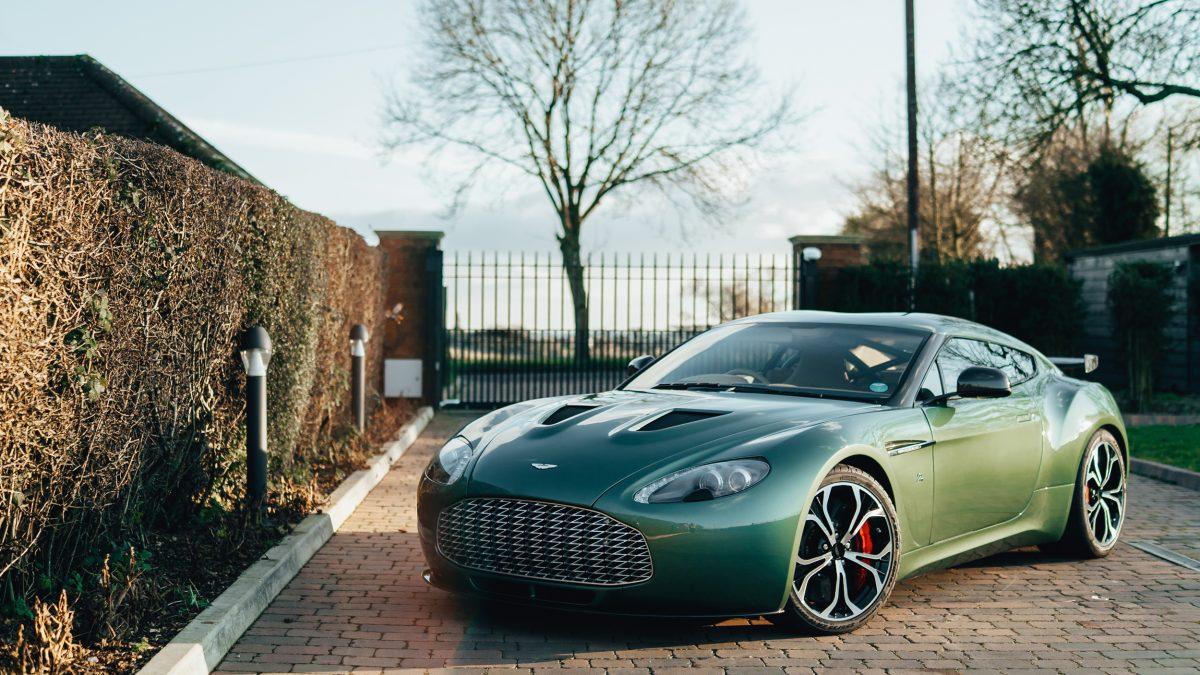 2012 Aston Martin V12 Zagato Coupe
