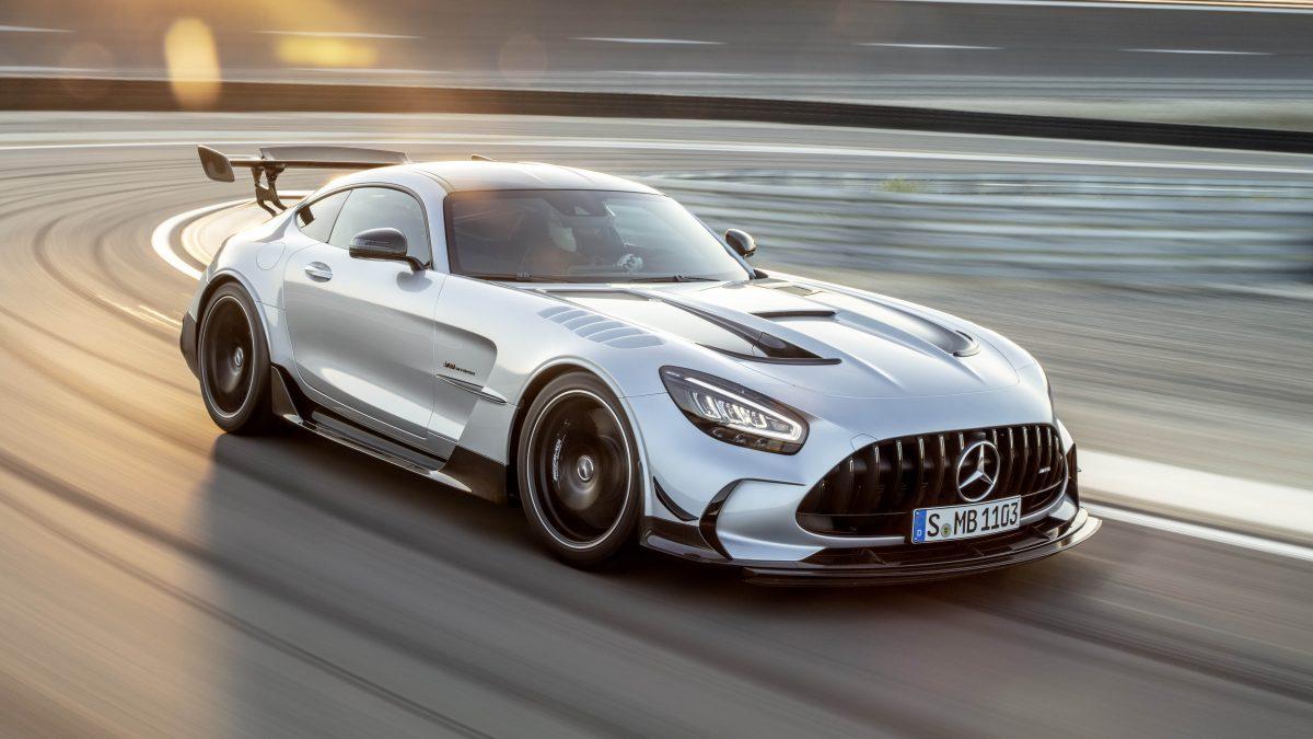 2021 Mercedes-AMG GT Black